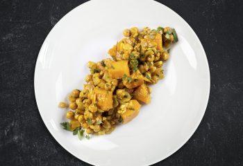 Butternut Squash Chickpea Curry