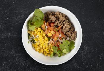 Low Carb Turkey Taco Burrito Bowl