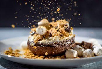 Pronut Sampler: Chocolate S'mores, Black & White & Matcha