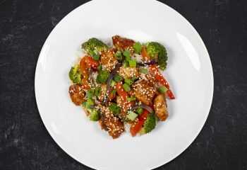 Low Carb Tangy Orange Chicken