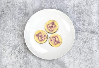 Swirled Blackberry Keto Cheesecake